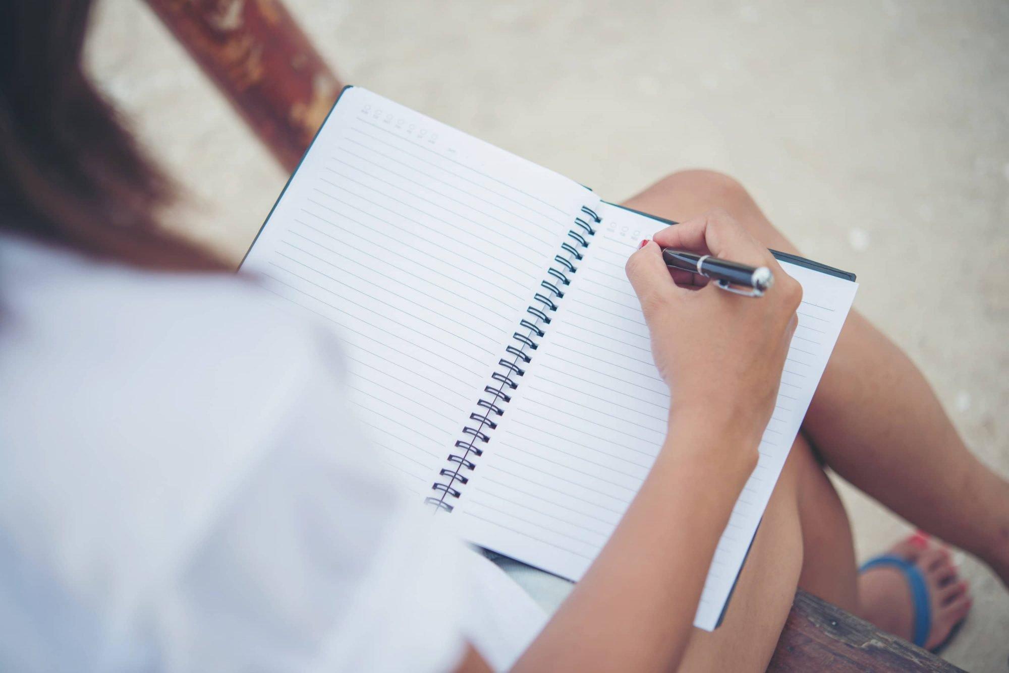 Schrijven therapie